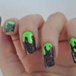 Halloween green slime essence action