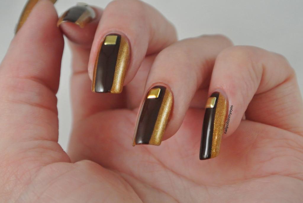 goldbrownstuds
