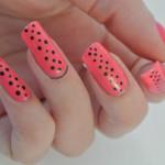 Pink-Black-Dots
