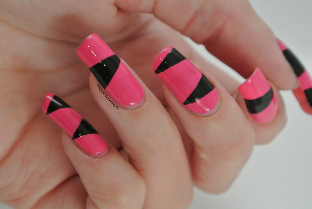 Pink-Black-Triangles