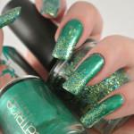 Green-Christmas-Glitter-Gradient