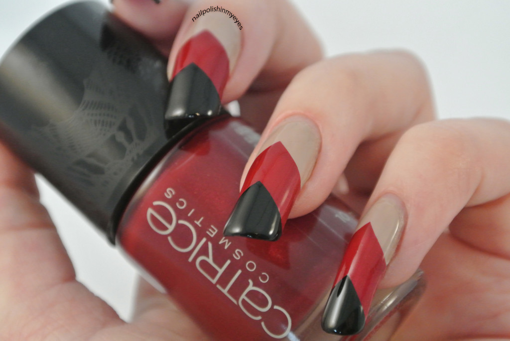 Nude-Red-Black-Chevrons