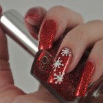 Red-Glitter-Snowflakes