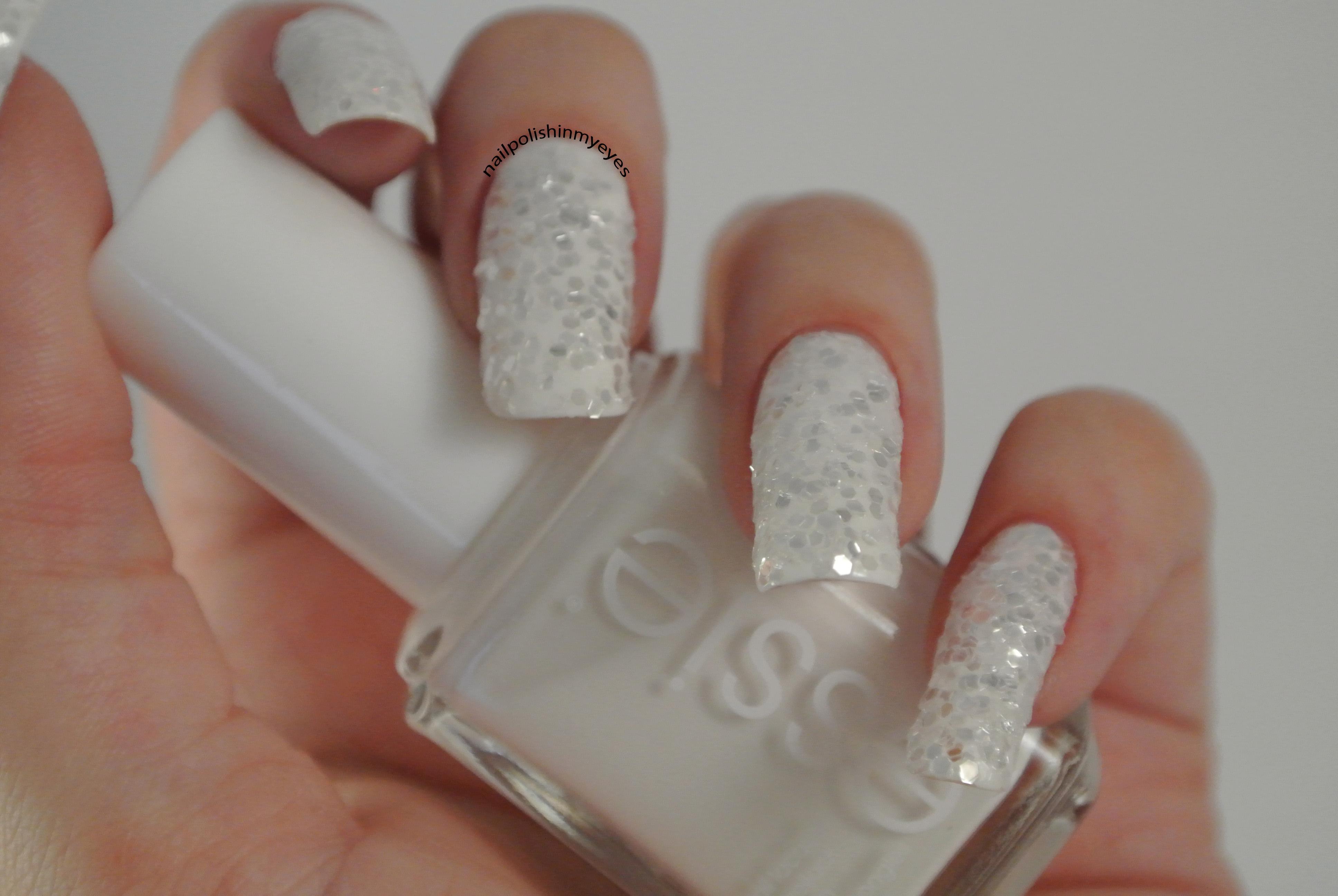 White Glitter 1 3