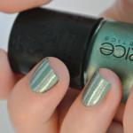 Green-Silver-Stripes