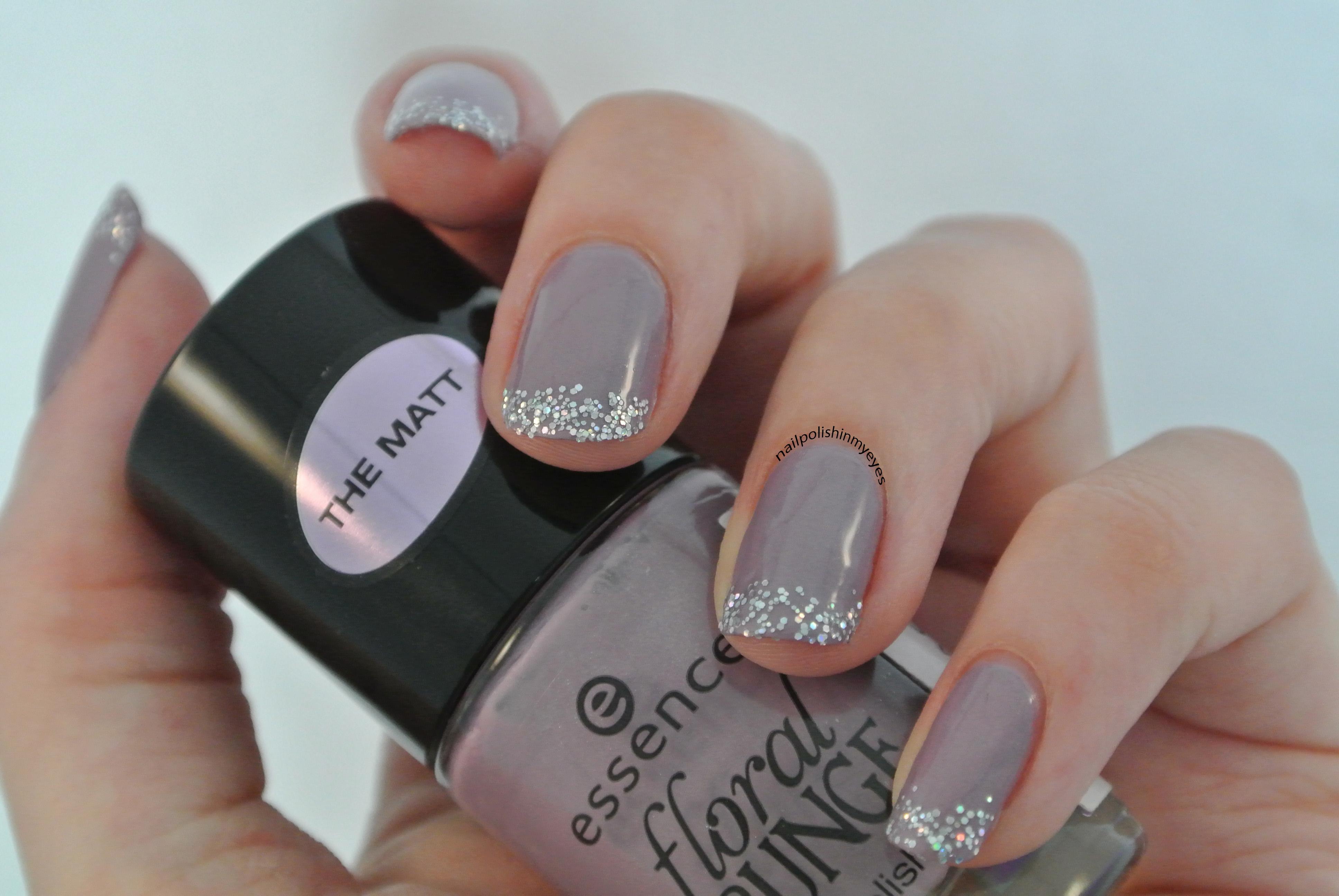 Purple & Glitter French Manicure | Nail Polish in my Eyes