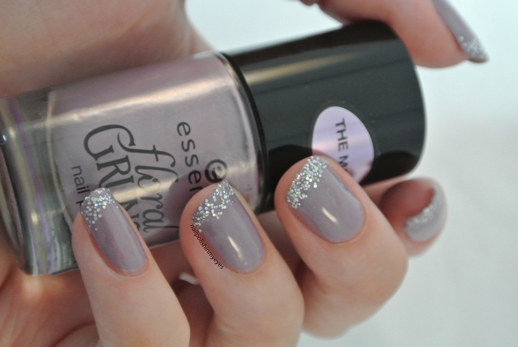 Purple-Glitter-French-Manicure